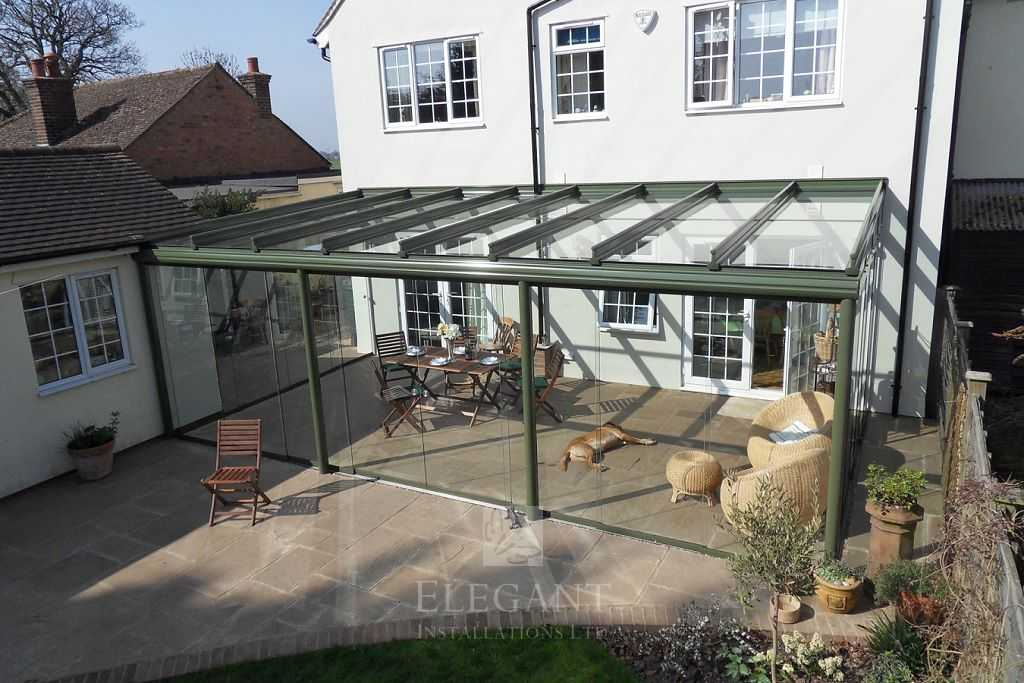 Gallery of our glass verandas garden glass rooms elegant for Garden glass room