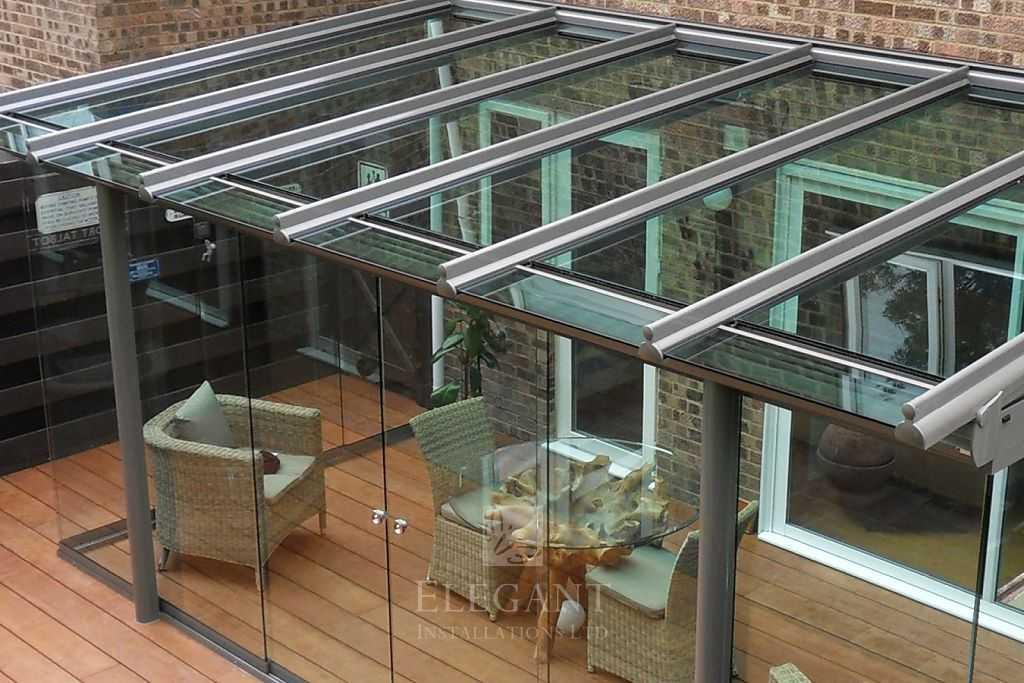 Glass Verandas Amp Rooms With Front Overhang Roof Elegant