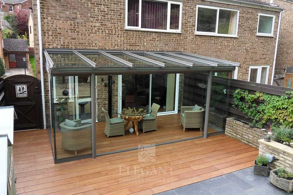 Veranda Decking Glass Rooms Amp Verandas On Wood Decking