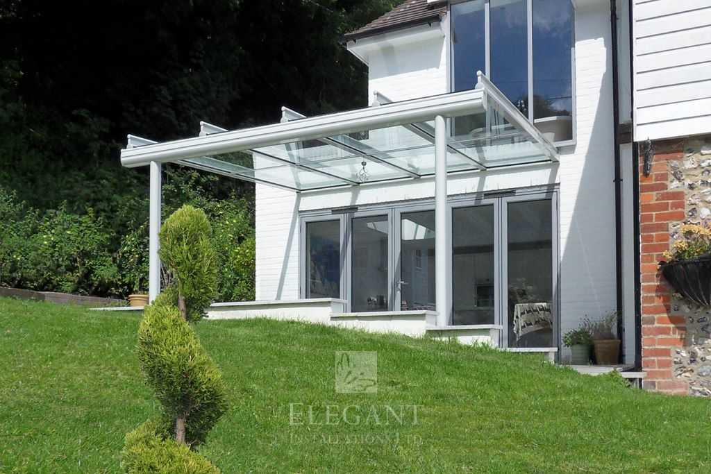 Glass Veranda Patio Roof Canopies Elegant Glass Verandas Uk