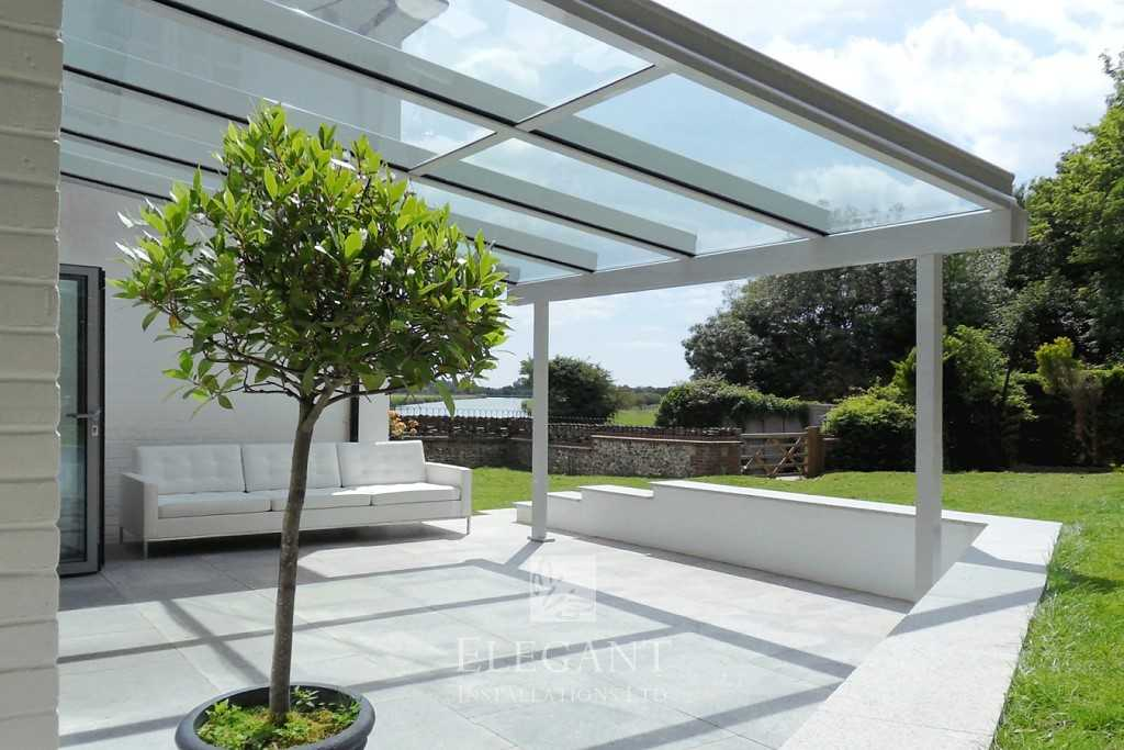 Attractive Glass Verandas Add Space
