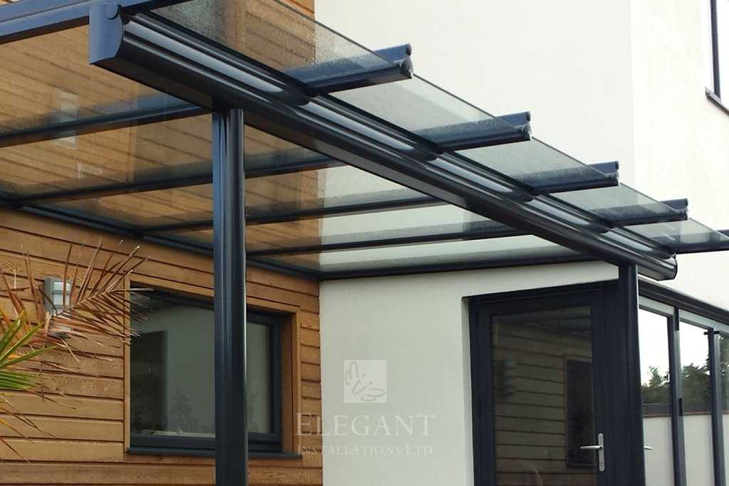 Glass Verandas Amp Rooms With Front Overhang Roof Elegant